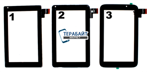 Тачскрин для планшета 3Q Q-pad LC0720C