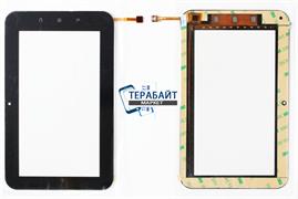 Тачскрин (сенсор) для планшета Etuline T723G