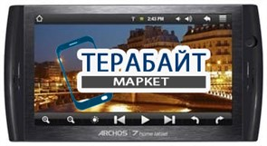 Тачскрин для планшета Archos 7 home tablet
