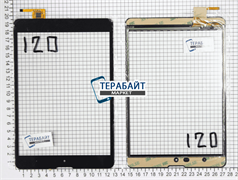 Тачскрин для планшета 3Q Q-pad MT7801C черный