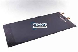 """Дисплей для """"Lenovo"""" K900 IdeaPhone + тачскрин (черный)"""