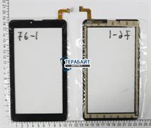 Тачскрин для планшета Digma HIT 4G Fpc-fc70s786-00 черный