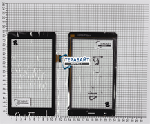 Тачскрин для планшета Oysters T7X 3G