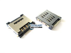 Разъем SIM для Roverpad Sky Expert Q10 3G (сим коннектор)