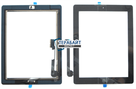 ipad 3 a1430 тачскрин сенсорный экран стекло
