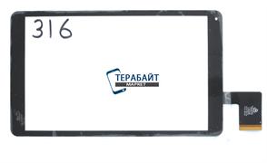 Тачскрин для планшета Irbis TZ93