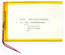 Аккумулятор (АКБ) для планшета teXet TM-1046