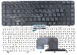 Клавиатура HP Pavilion 597635-001 черная с черной рамкой
