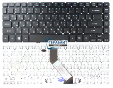 Клавиатура для ноутбука Acer Aspire M5-481TG без подсветки