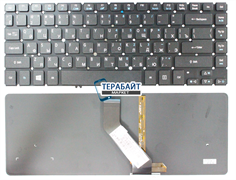 Клавиатура для ноутбука Acer Aspire M5-481PT с подсветкой
