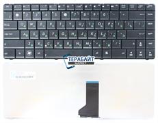 Клавиатура для ноутбука Asus N43 черная без рамки