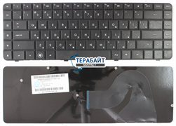 КЛАВИАТУРА ДЛЯ НОУТБУКА HP Compaq Presario CQ62-a10SD