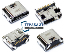 Системный разъем (гнездо) зарядки micro usb 12 для планшетов и телефонов