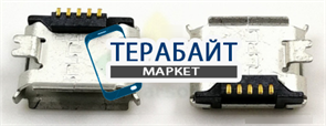 РАЗЪЕМ ПИТАНИЯ MICRO USB Nokia C2-08