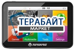 "Тачскрин для навигатора Topsource 5"" AV-IN+bluetooth"