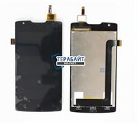 Модуль (дисплей + тачскрин) для телефона Lenovo A1000 черный