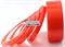 Скотч двухсторонний акриловый прозрачный (с красной защитной пленкой)