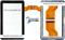 Тачскрин для китайского планшета Samsung N8000 N9000 - фото 40813