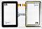 Тачскрин для планшета EXEQ P-704 - фото 51575