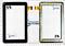 Сенсор (тачскрин) для планшета GoClever TAB R70 - фото 73300