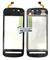 Сенсор (тачскрин) стекло для Nokia 5228 RM-625 черный - фото 81110