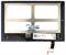 Модуль (тачскрин с дисплеем) для Lenovo Yoga Tablet 2 1050 - фото 96594